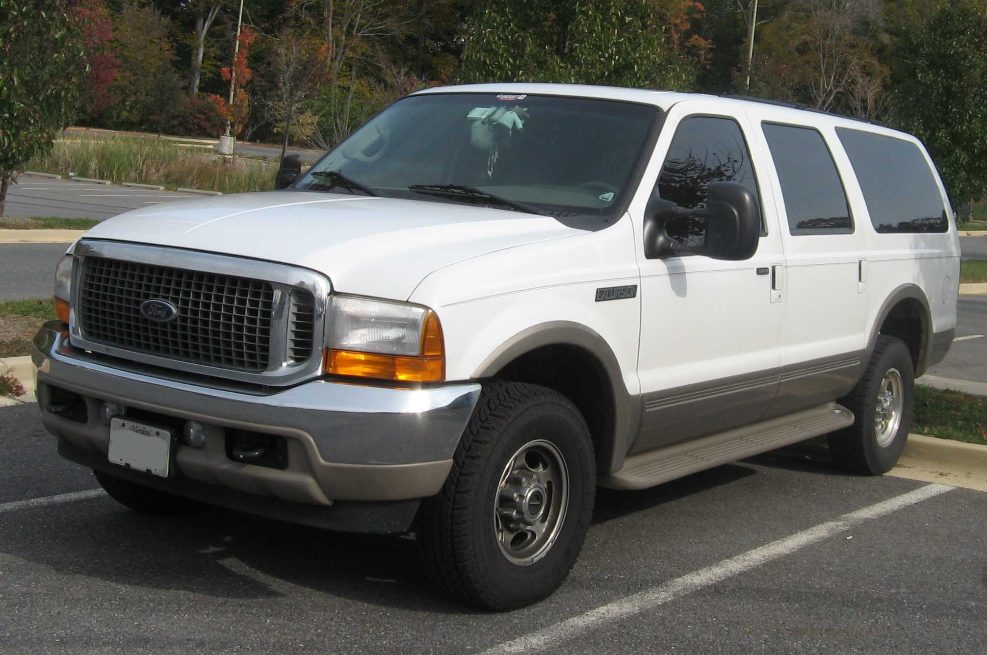 Ford Excursion 2014 The ford excursion is a