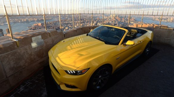 US-AUTO-FORD MUSTANG-50TH ANNIVERSARY