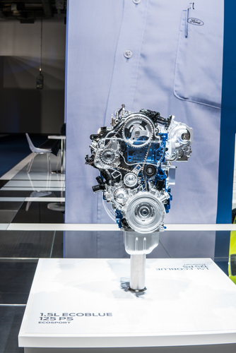 ford ecosport engine