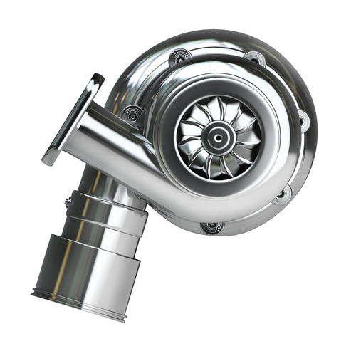 Steel turbocharger