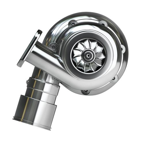 Steel turbocharger