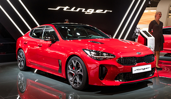 2018 kia stinger car show