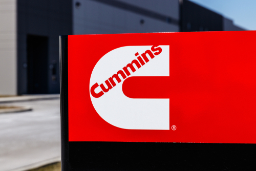 cummins signage and logo