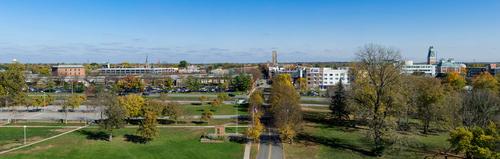 downtown columbus panoramic view